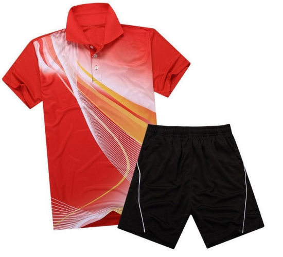 f9c982748a8 China Football Printed Custom Polyester Sports Polo T Shirt - China ...