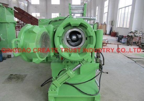 High Performance Two Head Rubber Strainer Machine/Rubber Straining Machine pictures & photos