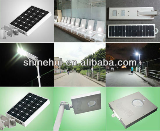 Integrated Solar LED Street Lighting Kits Solar Garden LED Light