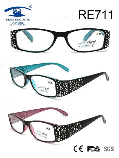 3ce7de6601 China New Fashion Pearl Decorate Women Reading Glasses Women (RE711 ...