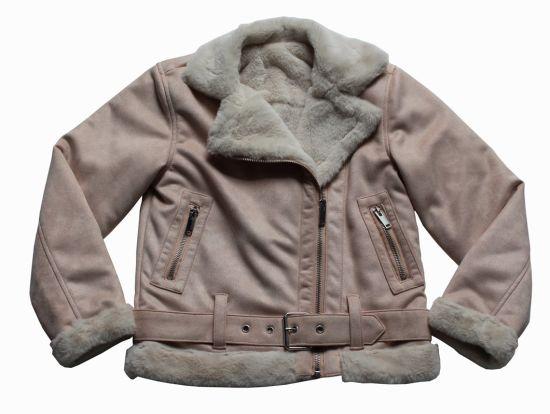 Wholesale OEM Latest Design Winter Clothing Fashion Suede Jacket