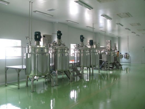 Industrial Stainless Steel Vacuum Inline Homogenizer Mixing Tank pictures & photos