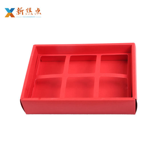 Wholesale Paperboard Wedding Favors Chocolate Sweets Gift Packaging Box with Divider