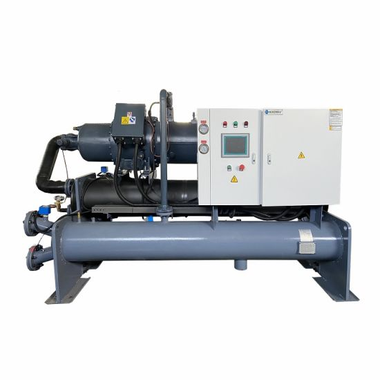 Factory Price Water Cooled Chiller, Screw Water Chiller, Industrial Chiller for Pool Cooling