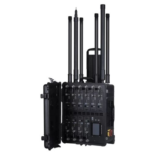 10 Antennas Dds Bomb Jammer, with Draw Bar and Wheels for Easy Moveable. Shieding Radius up to 500m pictures & photos