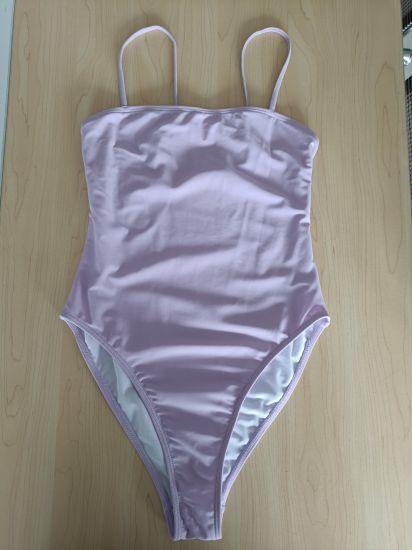 2021 Light Purple Sexy Girl Wallpaper Bikini Soft Hand Feel 18 Teen Petite Swimwear