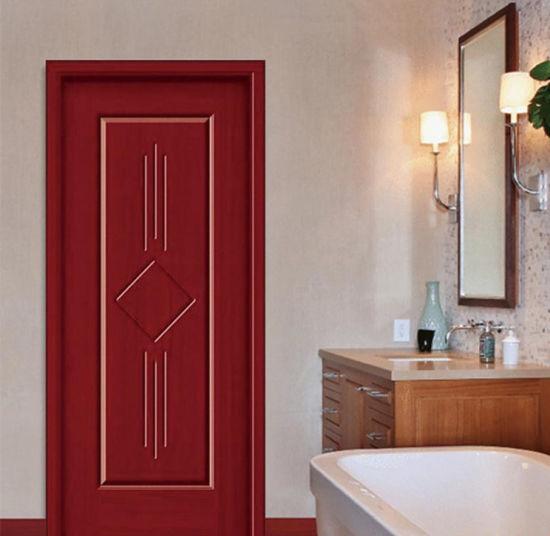 MID-East Pure Solid Wood Painted Room Door