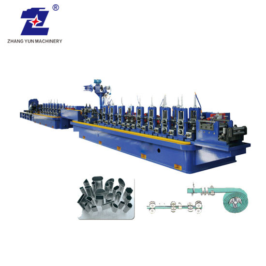 High Speed Metal Stainless Steel Hollow Tube Pipe Making Welding Equipment Machine Mill Line