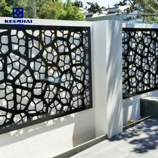 Decorative Best Metal Perforated Sheet Panel Aluminum Fence