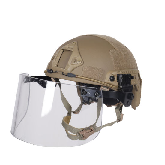 Nijiiia Advanced Combat Fast Style Bulletproof Helmet for Police