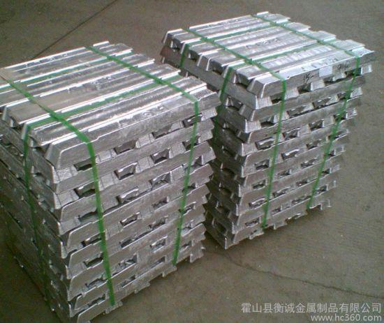 Top Quality High Purity Lead Aluminium/Aluminum Alloy /Zinc /Metal/Tin Alloy Ingot Ingot 99.99% Min Hot Sale