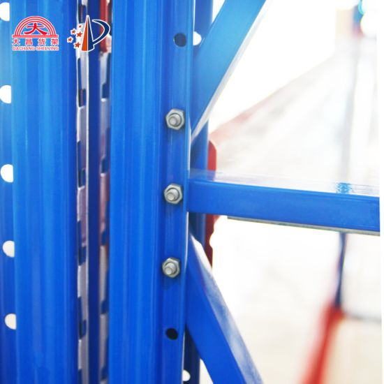 High Quality Industrial Metal Anti Corrosive Heavy Duty Selective Pallet Storage Warehouse Rack with Ce Certificate