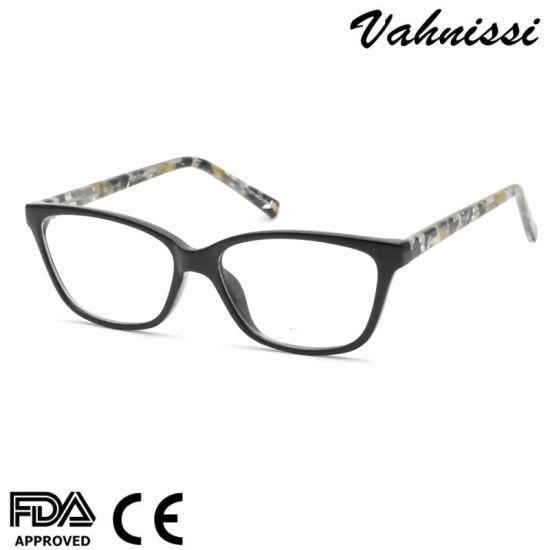 Facke Acetate Cp Injection Fashion Design Optical Frames