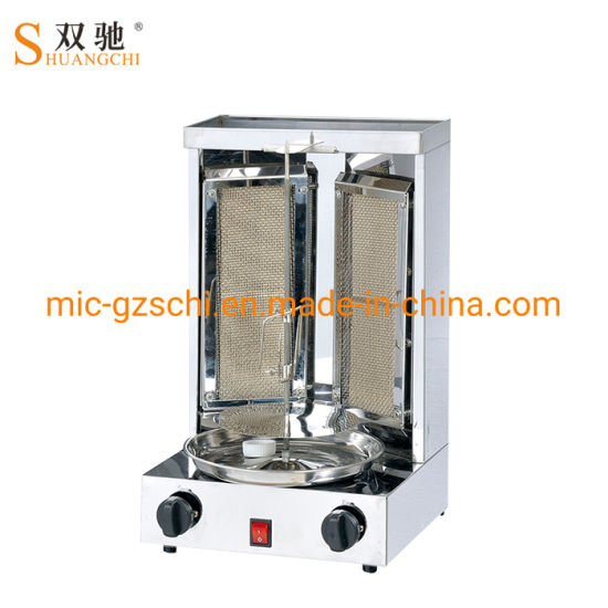 Shawarma Machine with Babecue Grill for Commercial pictures & photos