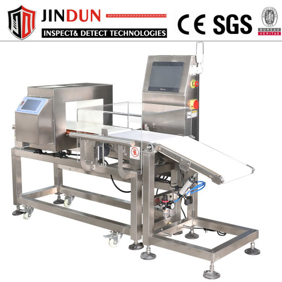 Electronic Consumer Products Metal Detector Checkweigher System Integrated Machines Combo