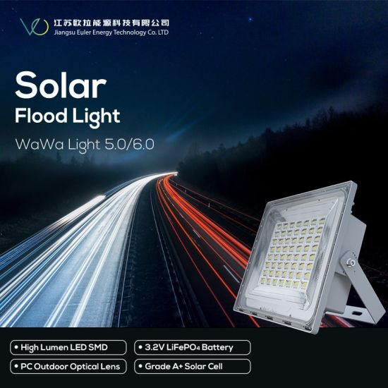 Indoor New Designed Solar Flood Light