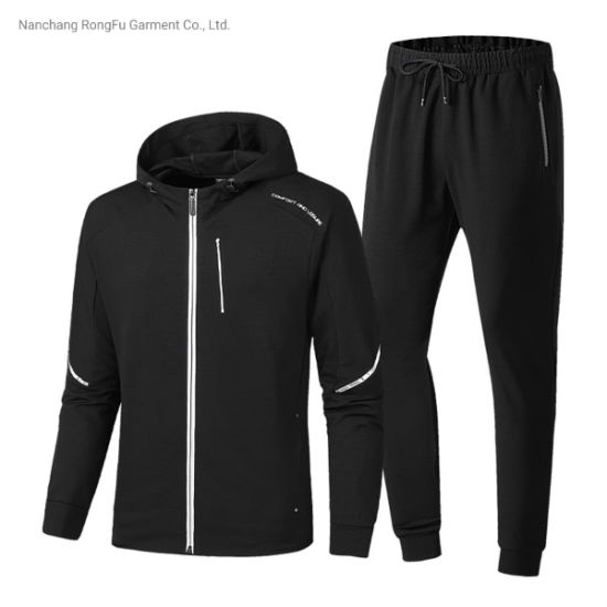 Men′s Sports Casual Hoody Tracksuit pictures & photos
