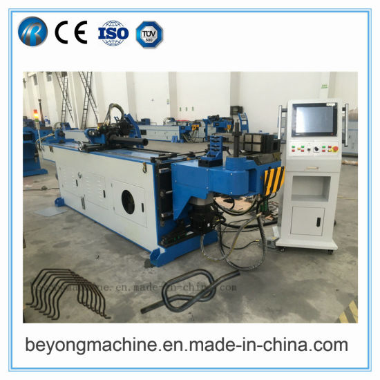 Hydraulic 3D CNC Tube Bender,Wheel Barrow Full Automatic CNC Tube and Pipe Bending Machine for Copper, Stain Steel,Alumium,Carbon Steel,Alloy for by-Sb-50CNC
