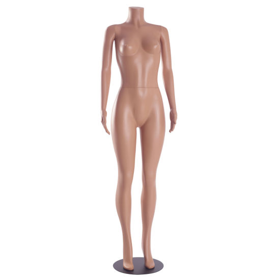 Flesh Tone PE Plastic Sexy Female Mannequin with Headless pictures & photos