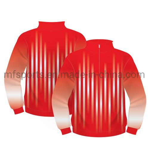 Wholesale Good Quality Men's Sports Clothing OEM Custom Gym Sweatsuit Polyester Stripe Mens Tracksuit