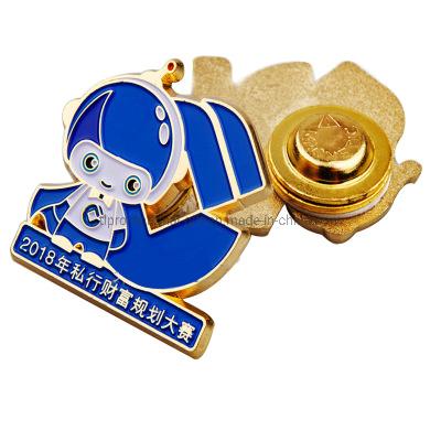 Police Badge Semi-Transparent Soft Enamel Souvenir Award Gift Lapel Pin