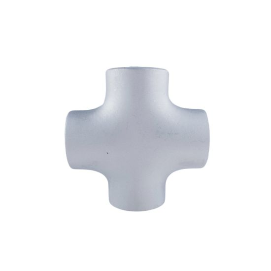 304 316 Stainless Steel Pipe Fittings Joint 4-Way Welding Equal Cross