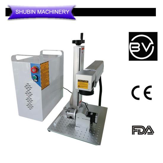 Split Model Rotary Axis Included Silver Gold Bracelet Rings Laser Marking Machine Logo Printing Enrgaver