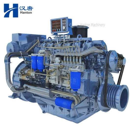 Weichai Deutz WP6C 226B marine diesel engine with gearbox for boat and ship