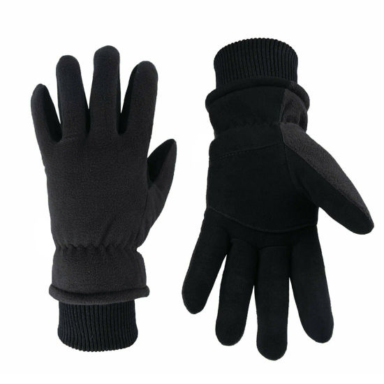 Lightweight Water Resistant Thermal Women Cold Weather Thumb Touch Sport Gloves