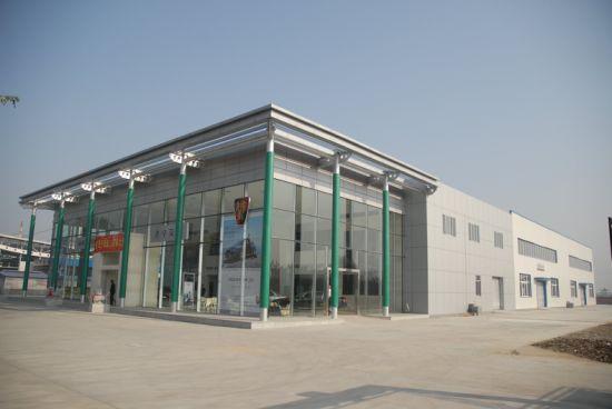 Fashion Design Prefabricated Steel Structure 4s Car Shop Light Steel Metal