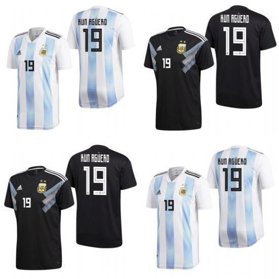 Argentina 19 Sergio Aguero Home Away Football Shirts Soccer Jerseys China 19 Sergio Aguero Jerseys And Argentina Jerseys Price Made In China Com