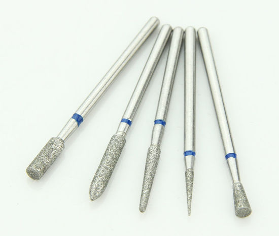 New Uprade Dental Coated Diamond Bur Straight Shaft pictures & photos