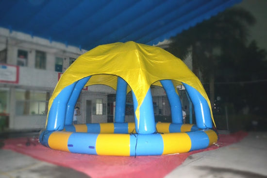 Outdoor PVC Inflatable Swimming Pool for Summer pictures & photos