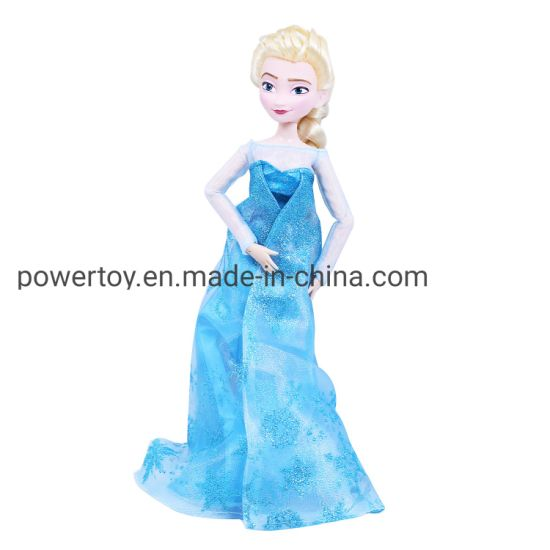 Eco-Friendly Safe and Nontoxic Colorful Plastic Girl Doll pictures & photos