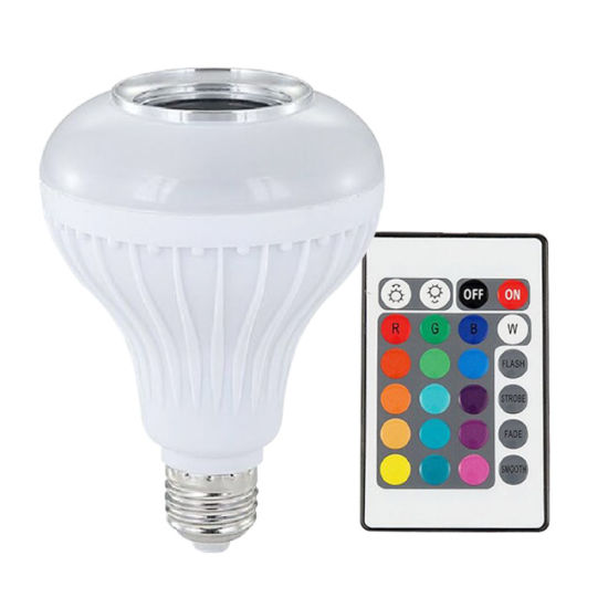 Smart Bluetooth Speaker LED Light Bulb with Remote Control pictures & photos