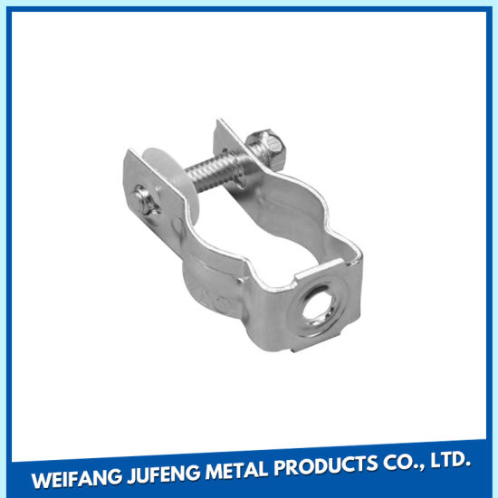 Corrosion Resistant Surface Customized Sheet Metal Stamping Pipe Clamp