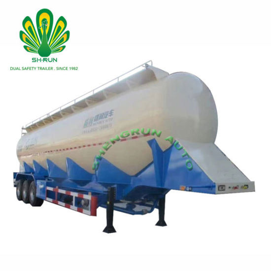 Dry Powder Bulk Cement Truck Semi Trailer
