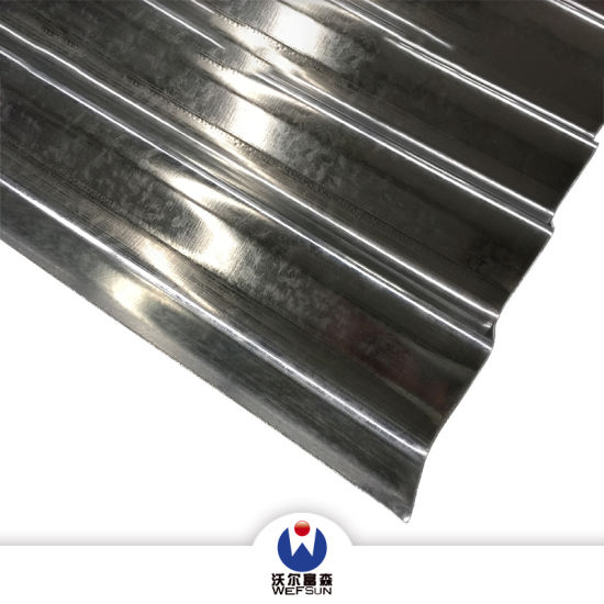 Corrugated Metal Steel Roofing Siding Material Cold Rolled Galvanized Steel Sheet
