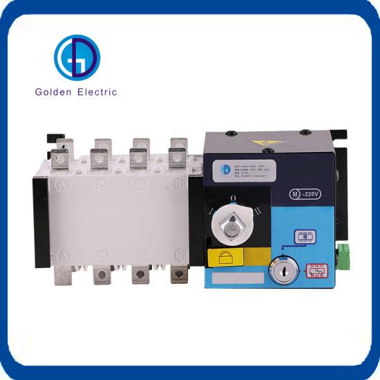 Generator 3poles 4poles Automatic Transfer Switch Equipment