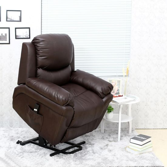 Electric Rise and Recline Lift Tilt Mobility Chair Riser Recliner & China Electric Rise and Recline Lift Tilt Mobility Chair Riser ...