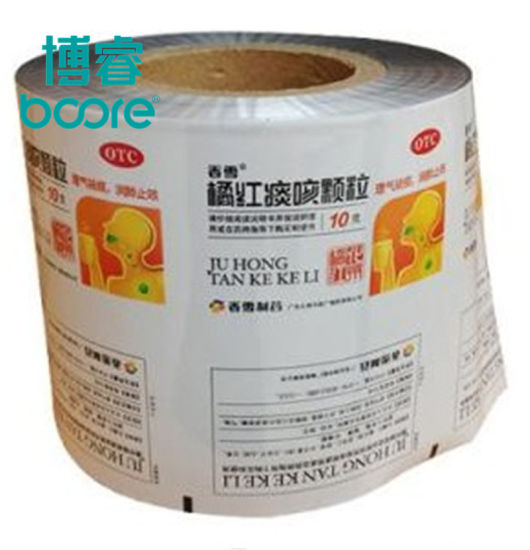 Pharmaceutical Packaging Pet/OPP/CPP/PE Plastic Laminated Film Metailzed Film in Roll