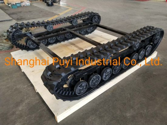 Heavy Rubber Track System Chassis Platform Dp-Bjlt-250