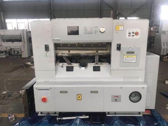 Paper Cutter Dapeng Fully Automatic 780mm Program Control Paper Cutting Machinery Guillotine Qzk780d-8
