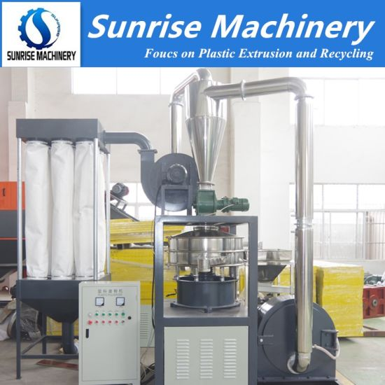 PVC LDPE HDPE Pulverizer Machine PVC Milling Machine/Plastic Grinder/ Grinding Machine PVC Powder Making Machine