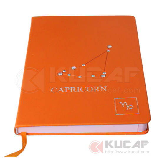 Most Popular Custom Marble Decoration Leather Cover Notebook pictures & photos
