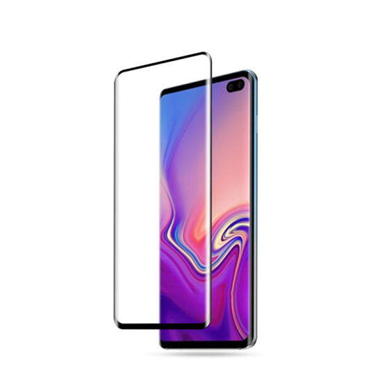 Premium Curved-Edge Full Screen Tempered Glass for Samsung S10/S10 Lite/S10 Plus