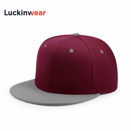 Cotton 5 Panel Adjustable Custom Unisex Hip Hop Baseball Hat Wholesale
