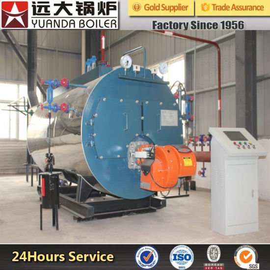 700kw 1400kw 2800kw 4200kw Oil or Gas Fired Hot Water Boiler for Heating pictures & photos