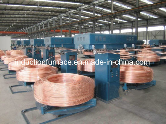 China Manufacturer Continuous Copper Rod Upcast Casting Rolling Machine