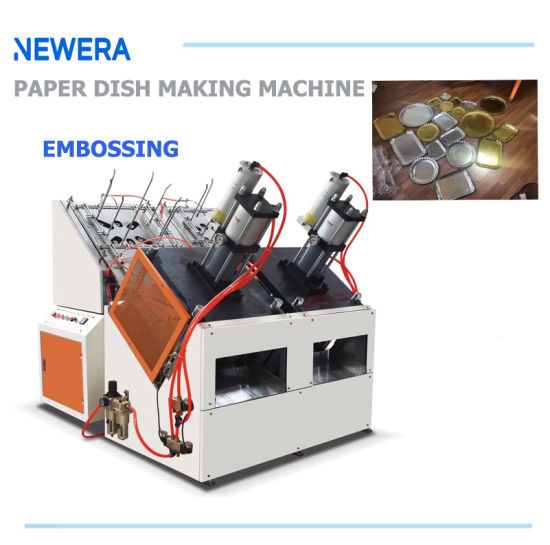 Automatic Hydraulic Disposable Paper Plate Making Machine